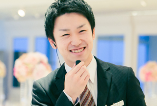 チーフブライダルコンシェルジュ 竹田京介